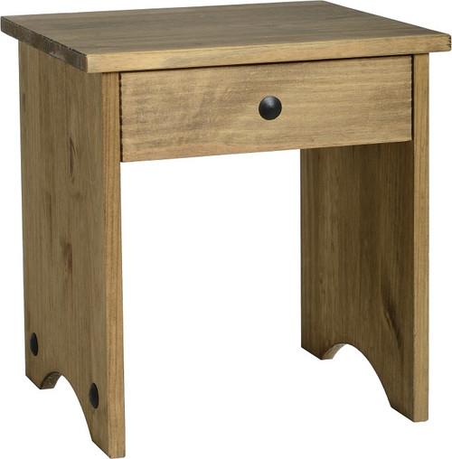 Corona Dressing Table Stool Pine