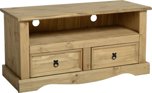 Corona TV Unit with 2 Drawers