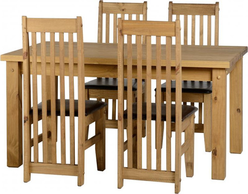 "Tortilla 4' 9"" Dining Set"