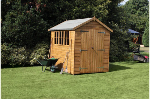 shedlands heavy duty apex shed