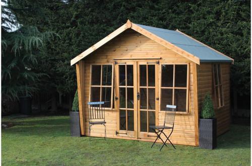 shedlands alpine wing summer house