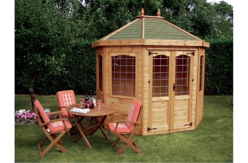 shedlands octagon 8 summer house