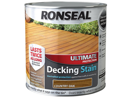 ronseal decking stain country oak