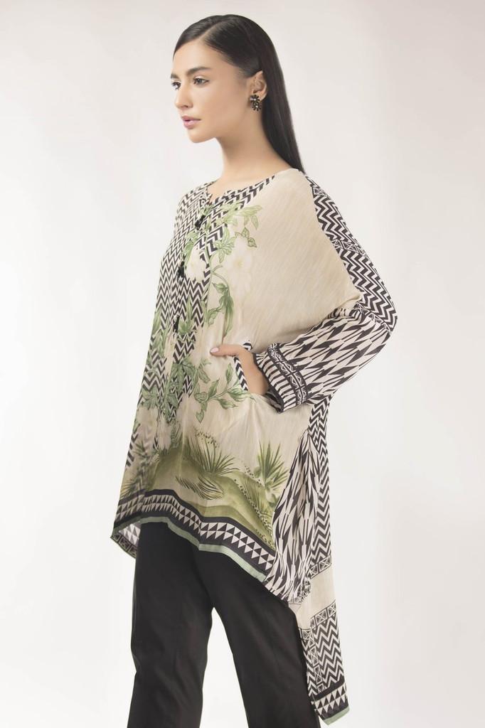 Sapphire Silk printed top
