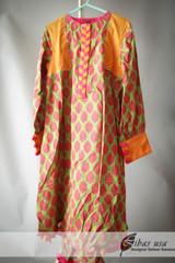 Multicolor Junaid Jumshed Girls Dress Age 8
