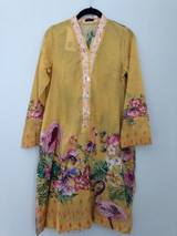 Sapphire Embroidered Lawn Shirt
