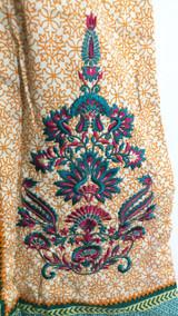 Bonanza Printed Shirt with Laces
