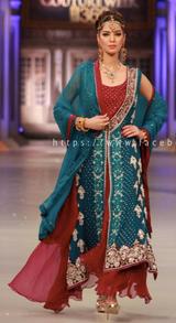 Shimmering Raspberry Pakistani Formal Dress