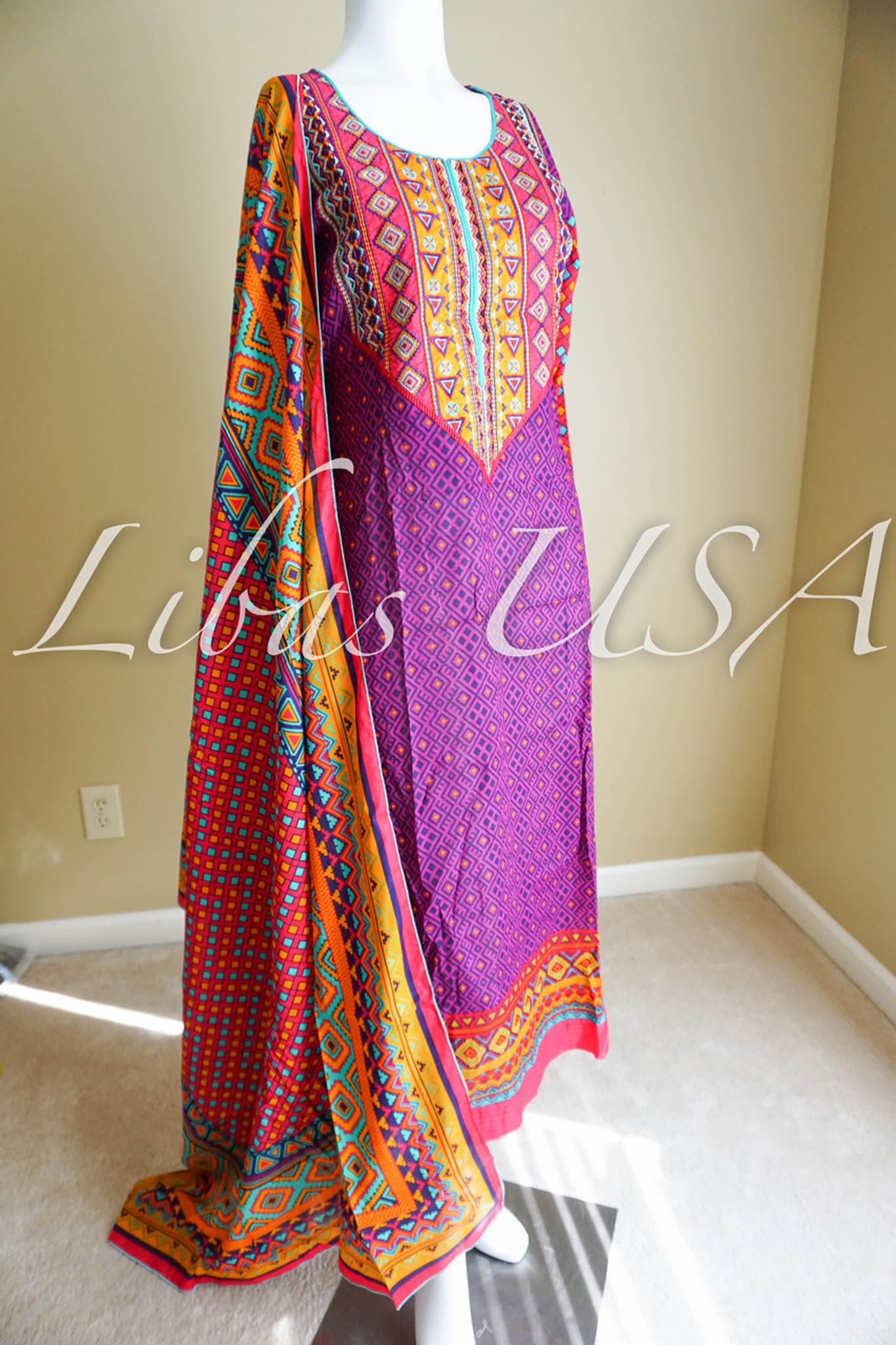 Al Karam Lawn suit 2314P