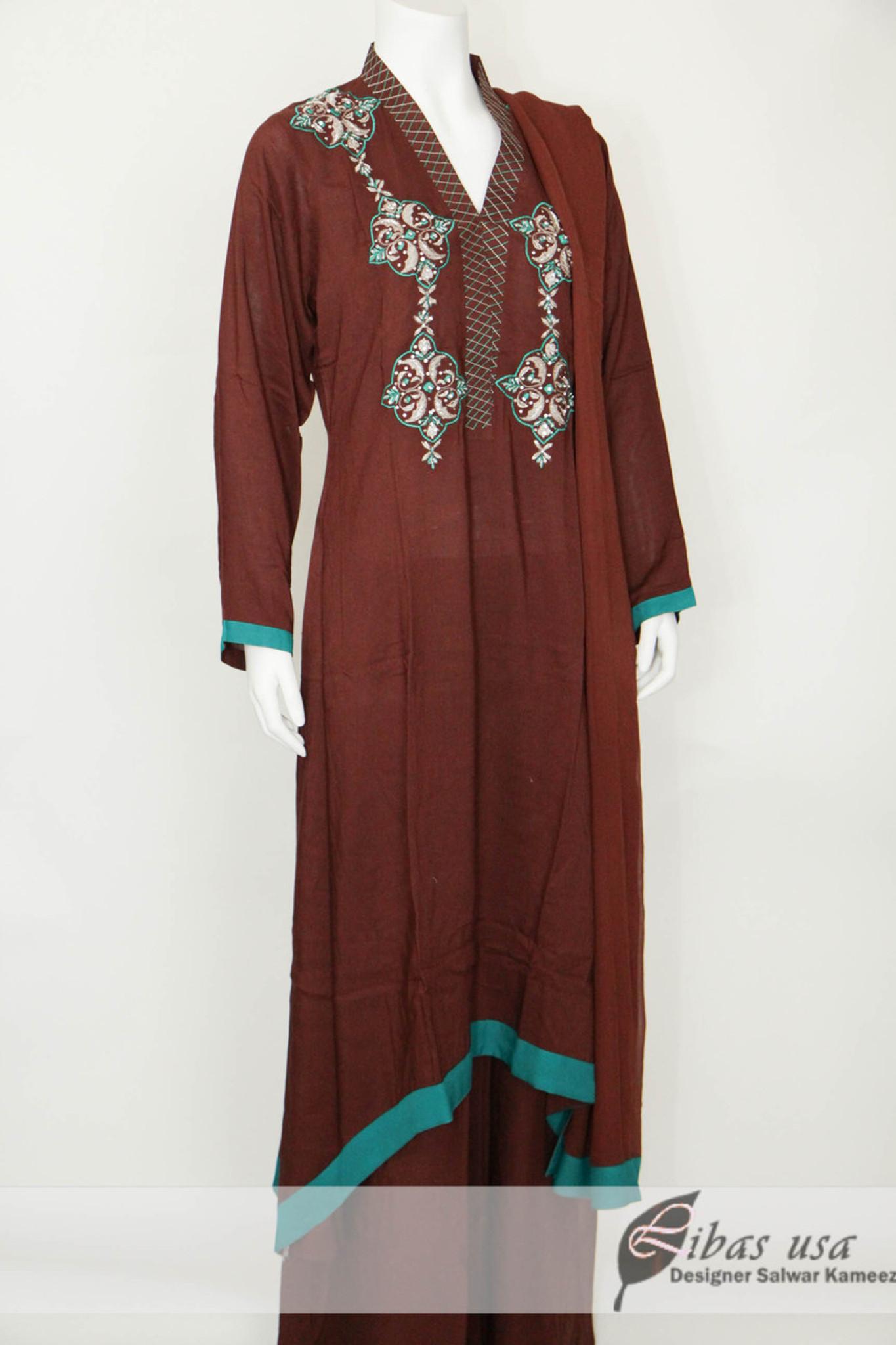 Brown 3 piece suit