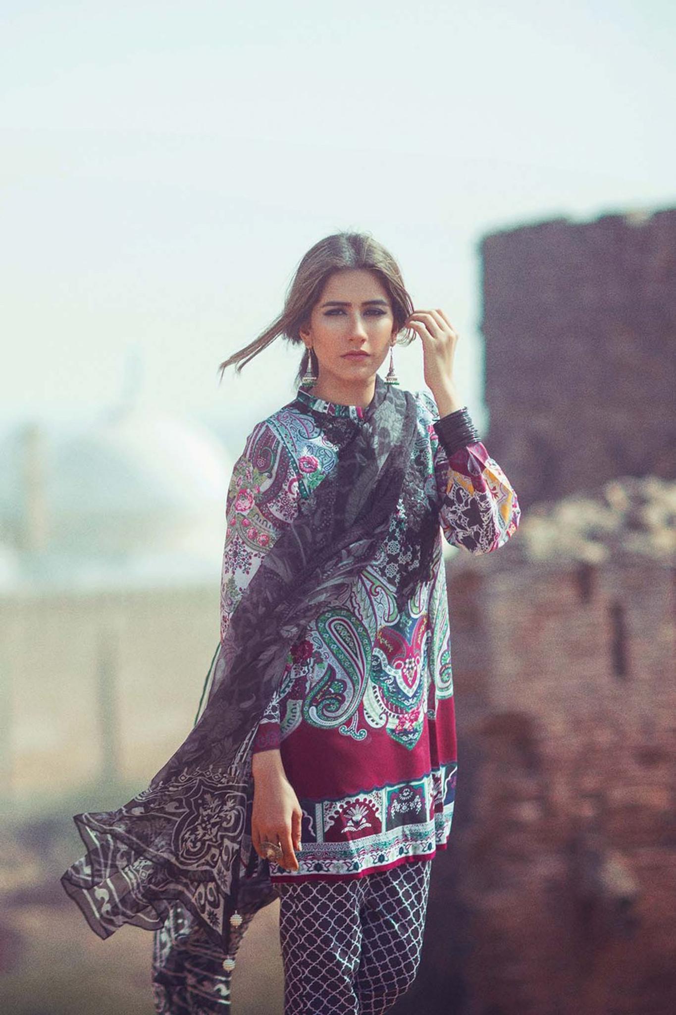 Zara Shahjahan Lawn Kashmir