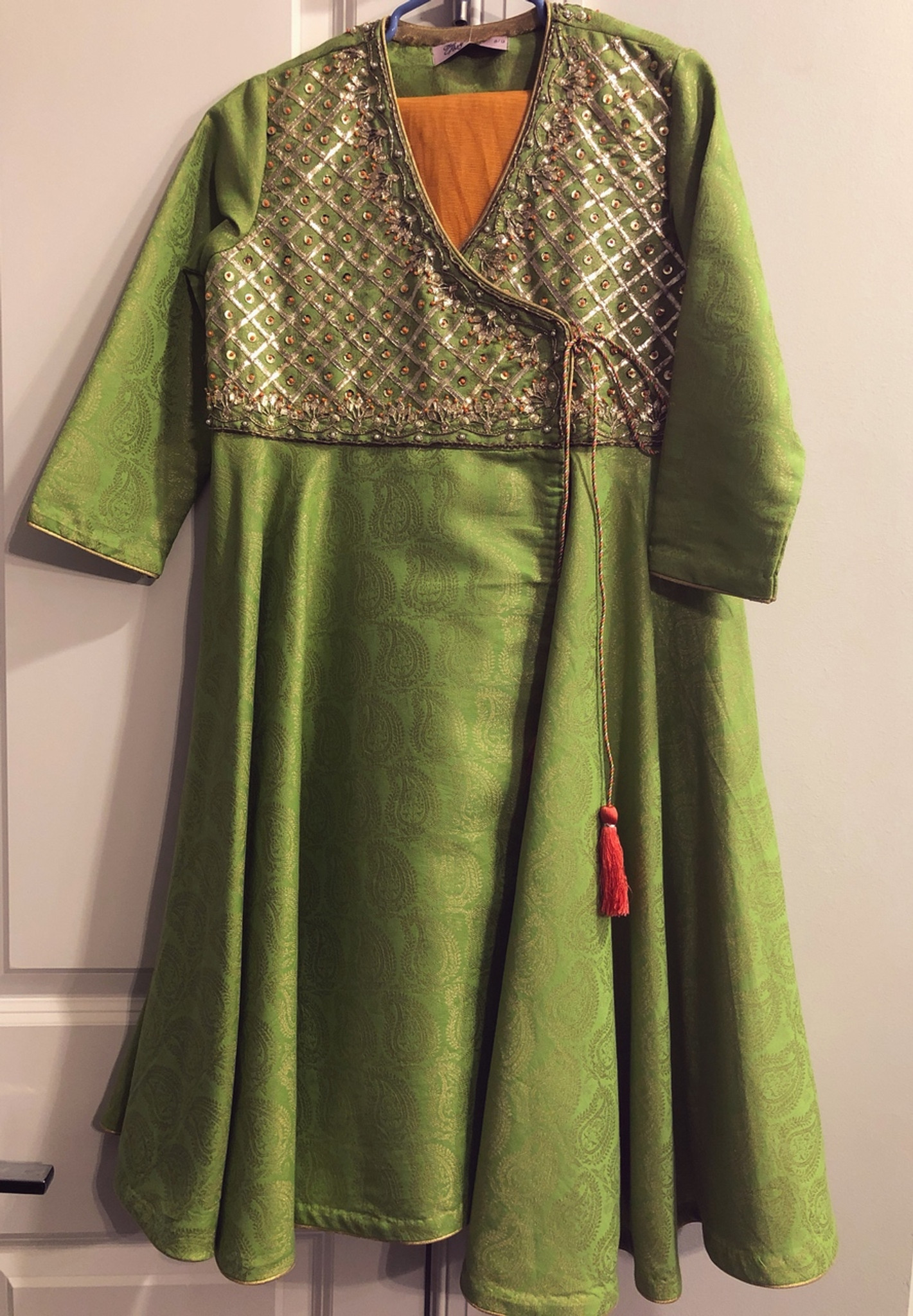 Eden Robe Lime Green Dress