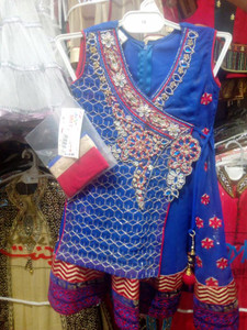Girls Fancy dress with sleeves attached Age 2