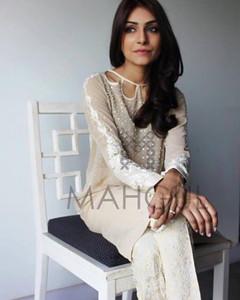 Mahgul Embroidered Dress 15-7