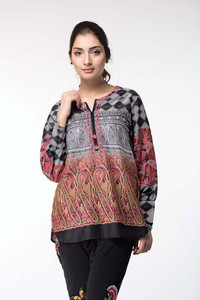 Ethnic Embroidered Fusion Top 17011