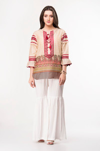 Ethnic Embroidered Fusion Top 17012