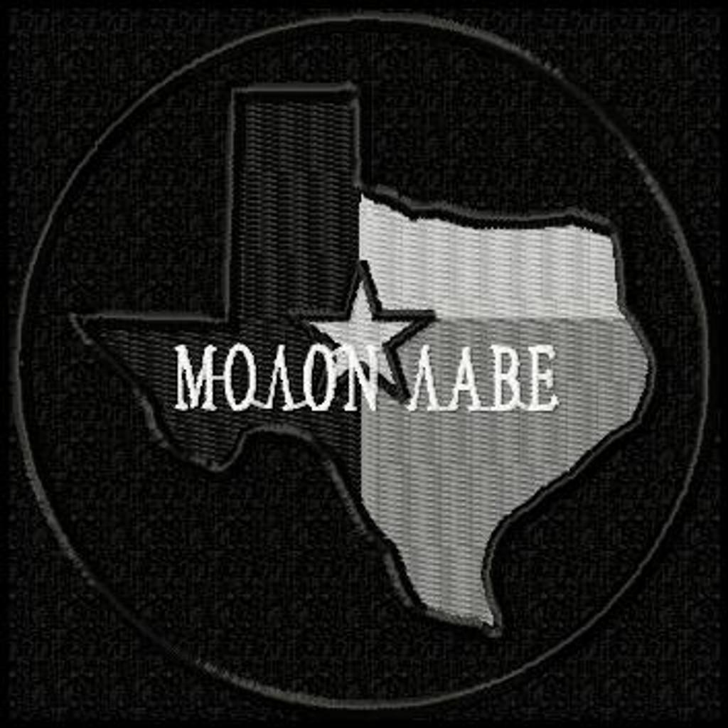 Molon Labe Patch Texas Subdued Black