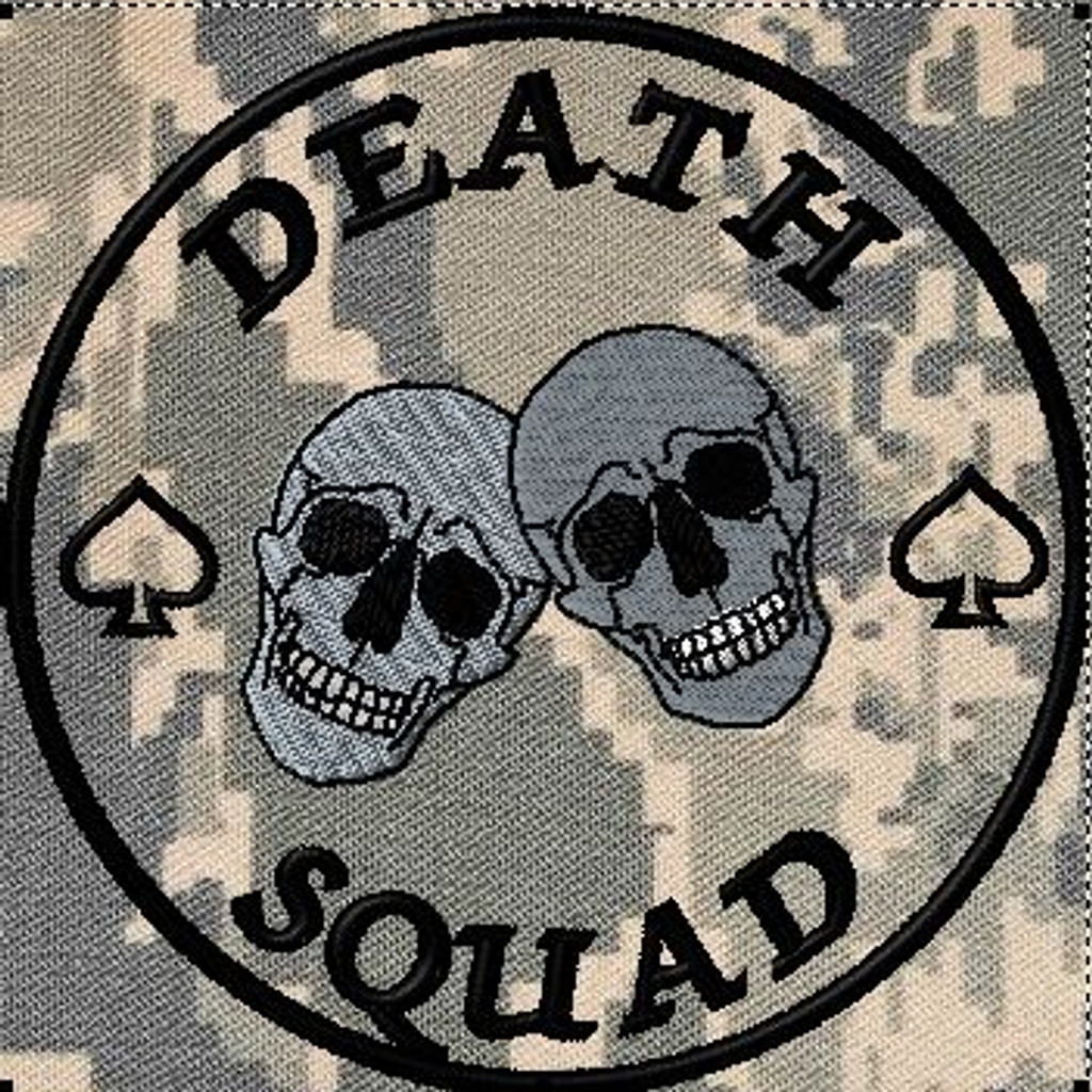 death squad patch
