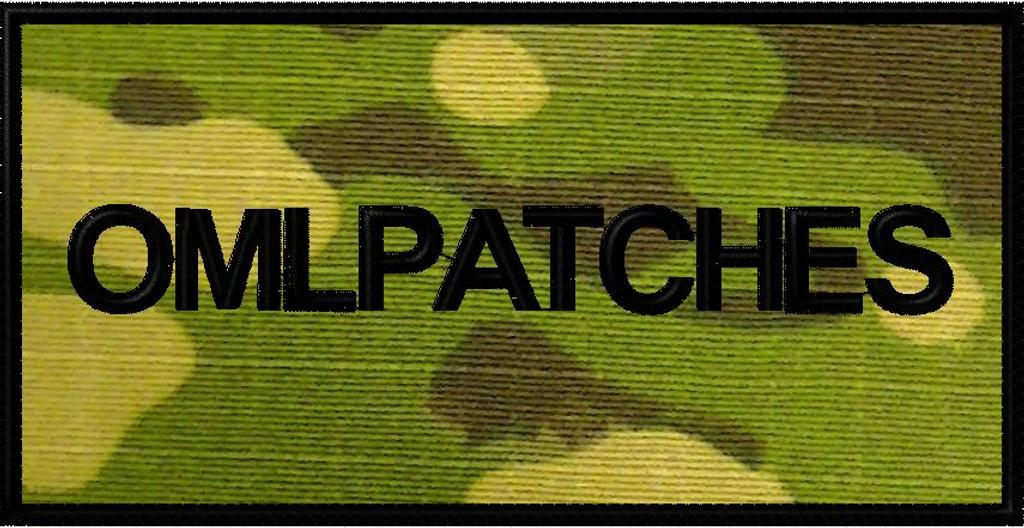 custom 3x6 nametape or smaller full back patch in multicam tropic