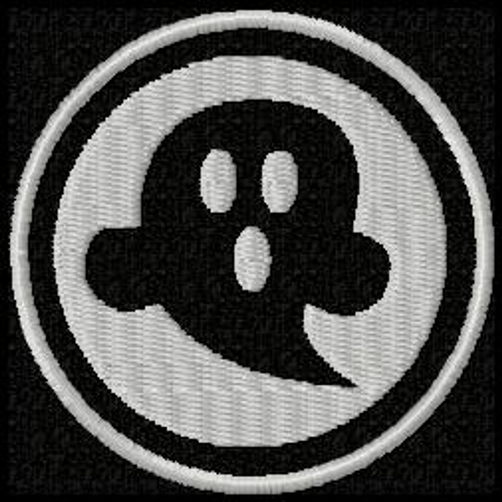 Scary Ghost Funny Patch