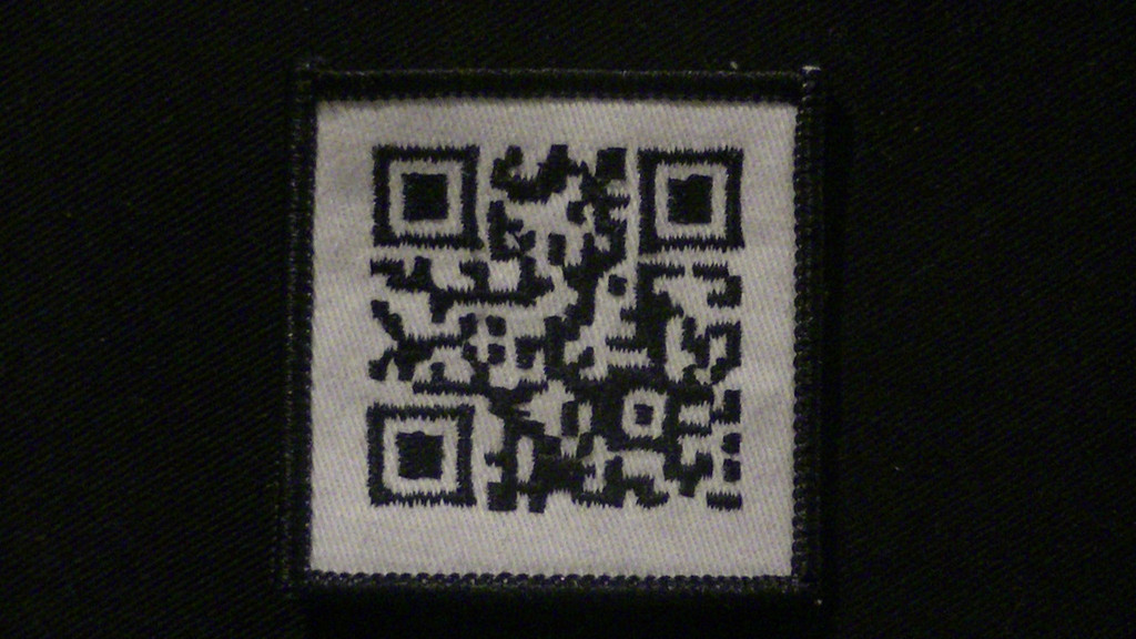 TACSCAN QR PATCH (CREATE) - tactical scannable patches only at omlpatches.com