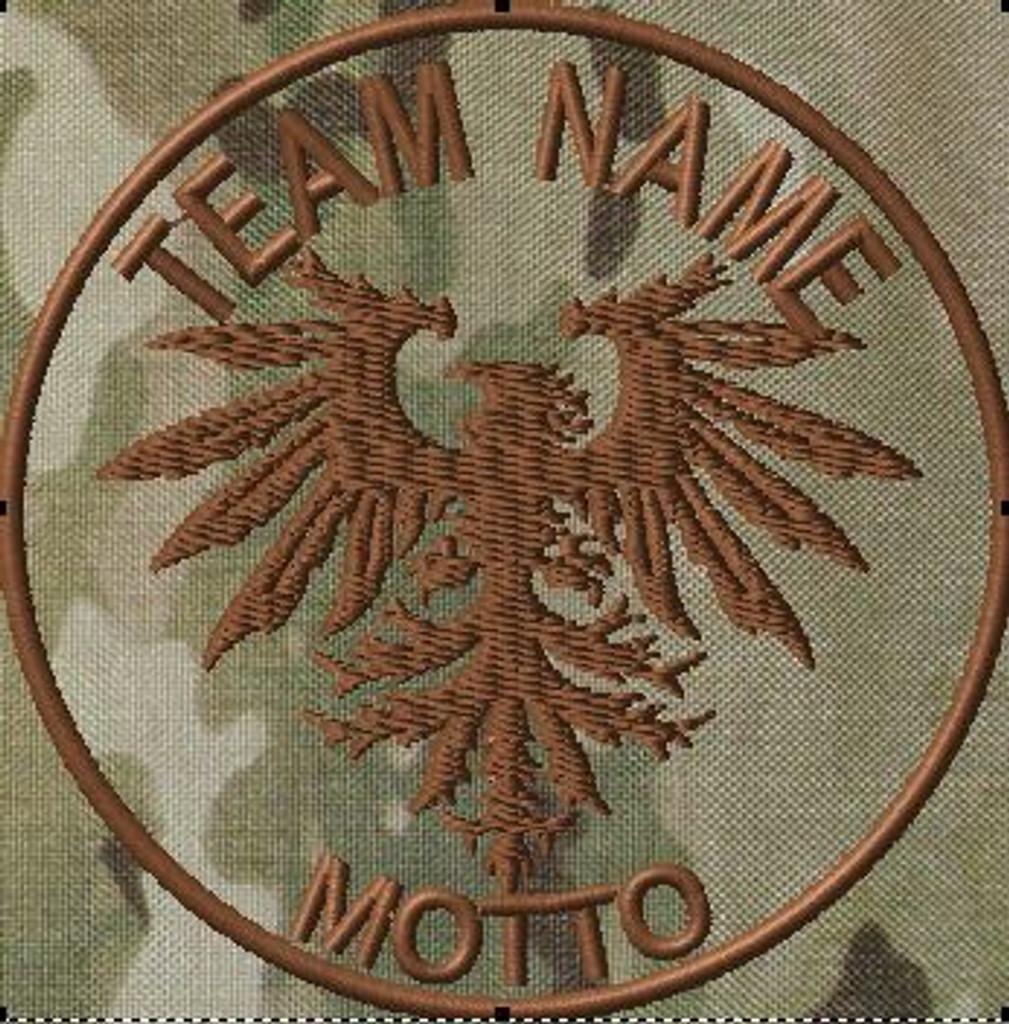 Tribal Eagle Custom Patch