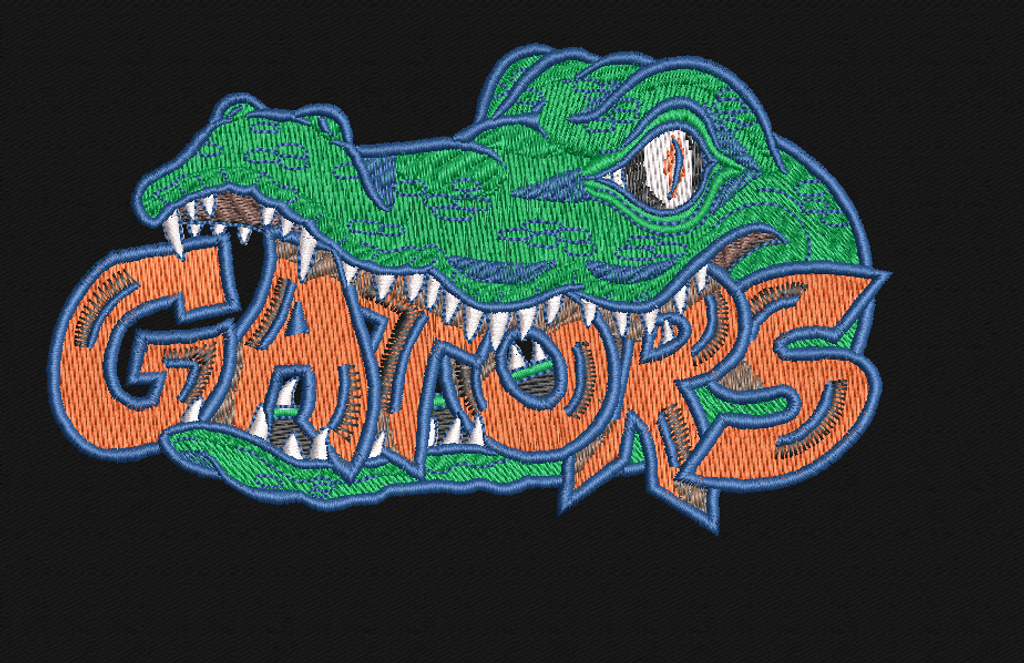FL Gators custom sports team patch