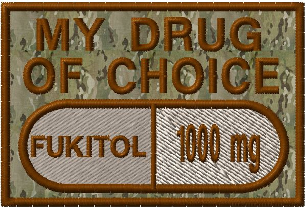 My Drug of choice custom morale patch