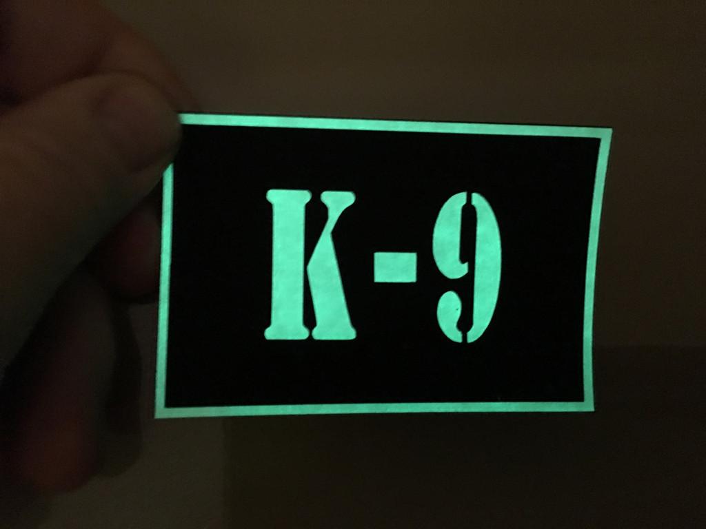 Custom PVC Vinyl ID Patch