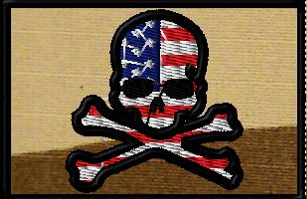 American Jolly Roger 2 x 3 Full Color