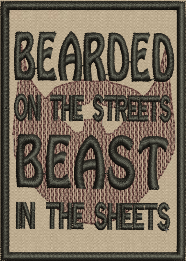 Bearded on the Streets Morale patch