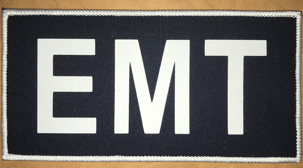 EMT Glow in the Dark 3x6 Velcro Patch (limited)