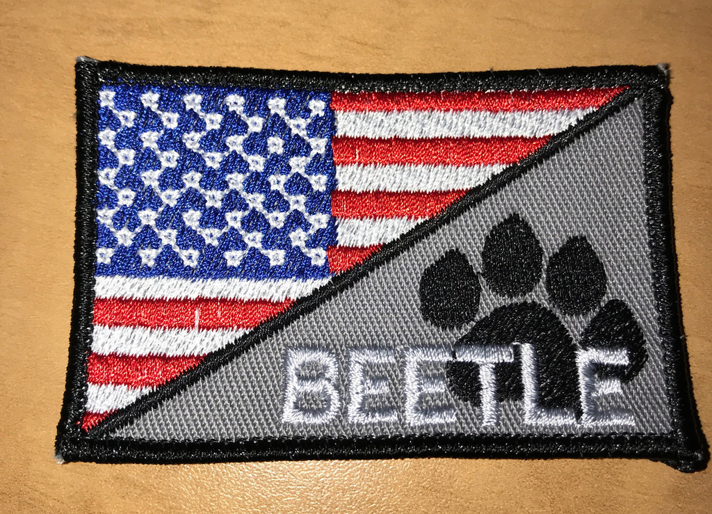 USA Paw Full Color morale patch
