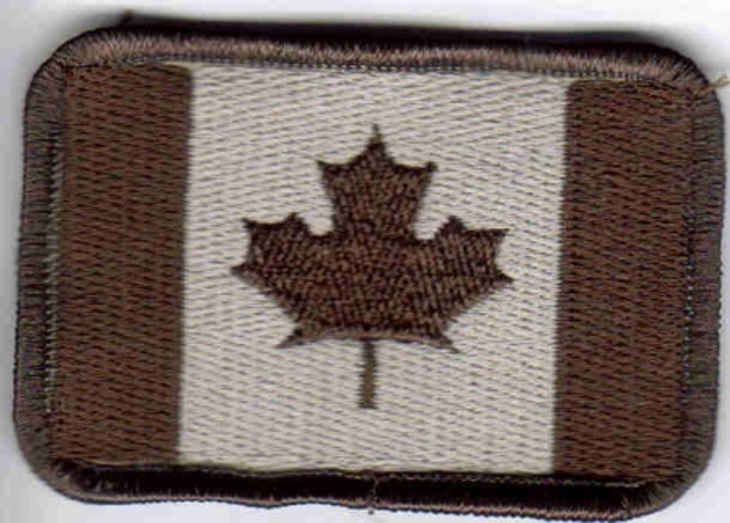 Canada Flag Patch Tans