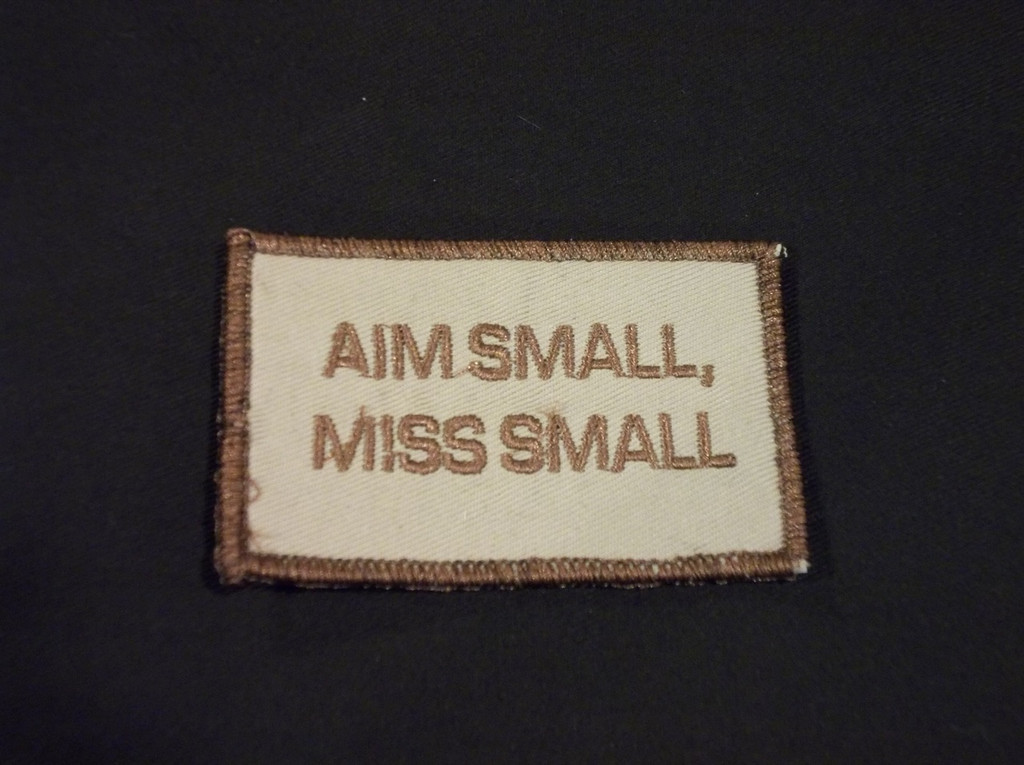 Aim Small patch tans