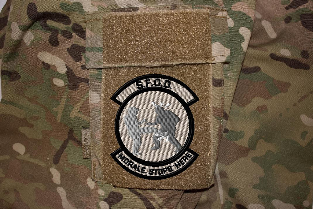 Morale stops here ultimate morale patch on multicam