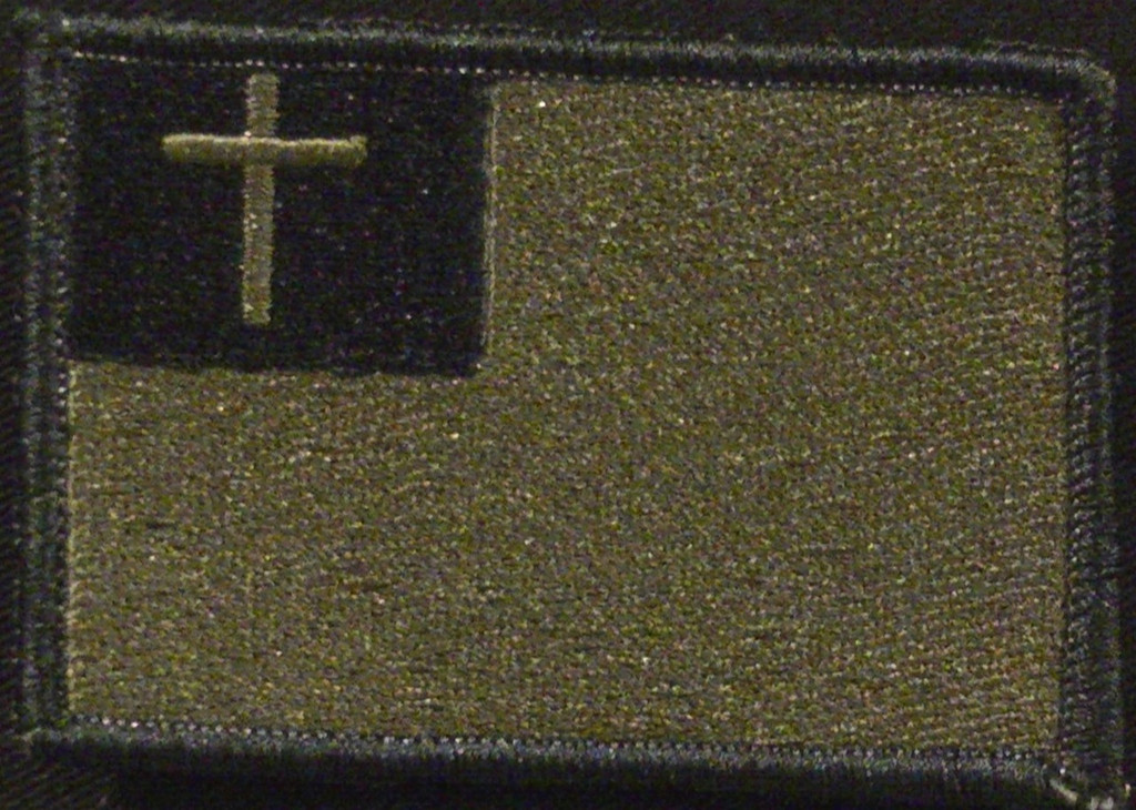 Christian Flag VELCRO® Brand patch
