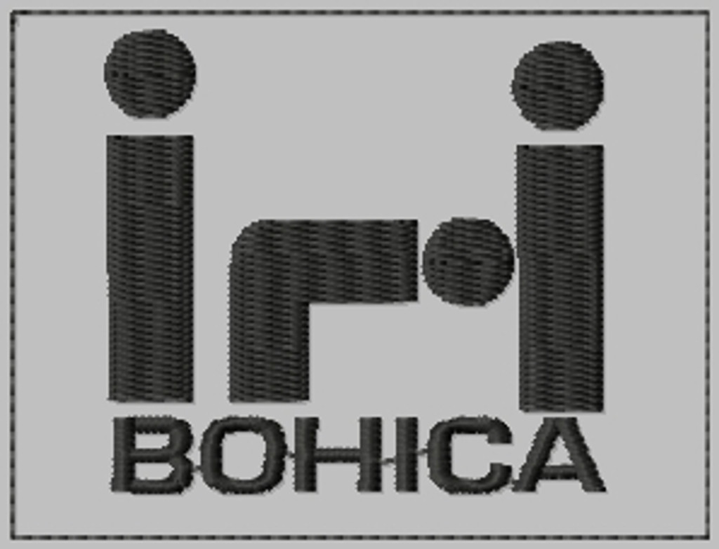 BOHICA biker embroidered PATCH