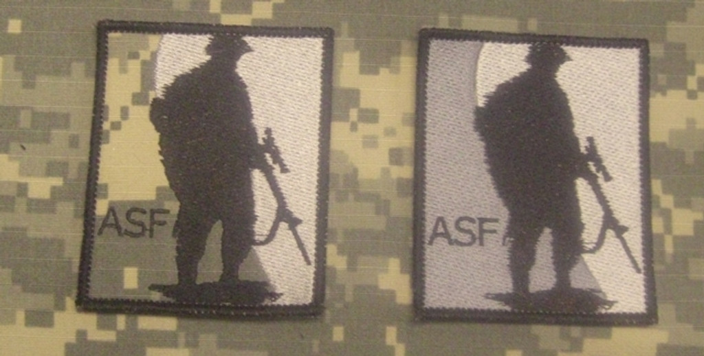 ASF all color VELCRO® Brand patch