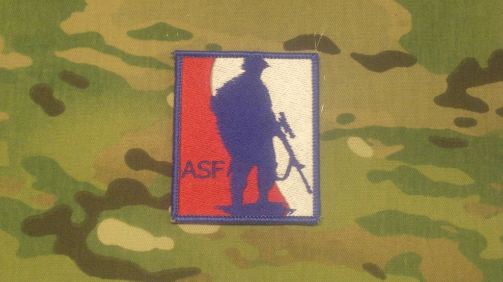 ASF full color patch