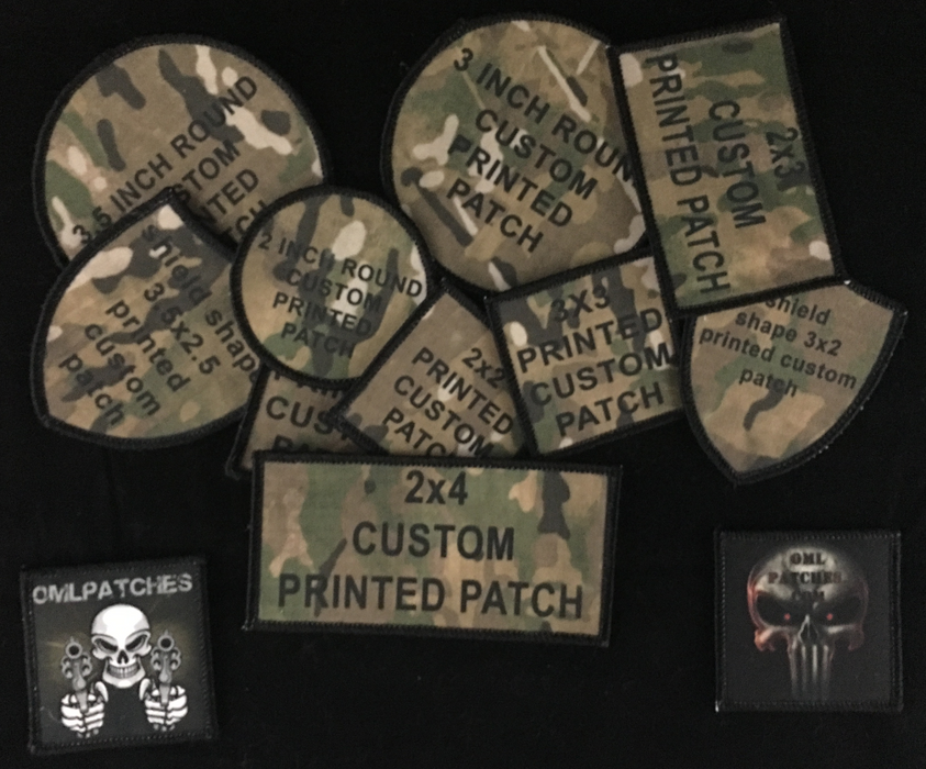 Printed Custom Patches
