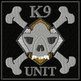 K9 unit - skull patch