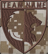 Team patches lion crest