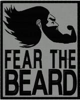 FEAR THE REAPER ACU HOOK FASTENER PATCH