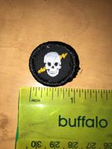 Lightning Skull Micro Patch