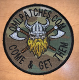 Custom Norseman Viking team patch