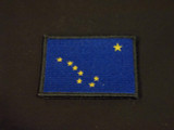 Alaska flag patch full color