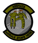 Morale Stops Here Morale patch OD colors