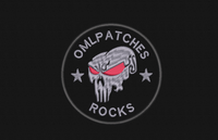 Team Patch with Punisher Red Eyes