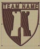 Team patches castle crest